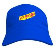 Прикольная молодёжная кепка летняя с печатью Sex Pistols