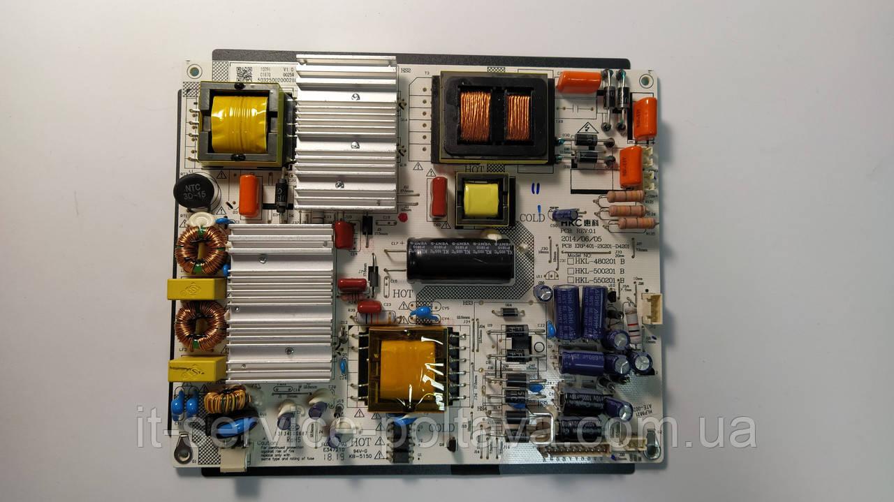 Блок живлення 401-2K201-D4201 для телевізора HKC 50F1