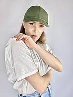 Бейсболка хакі жіноча бавовняна BBKx3, фото 1