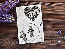 Чипборд набор рамки с розами