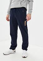 Мужские спортивные штаны из турецкого трикотажа на металлической молнии Демисезонные размер 58-64