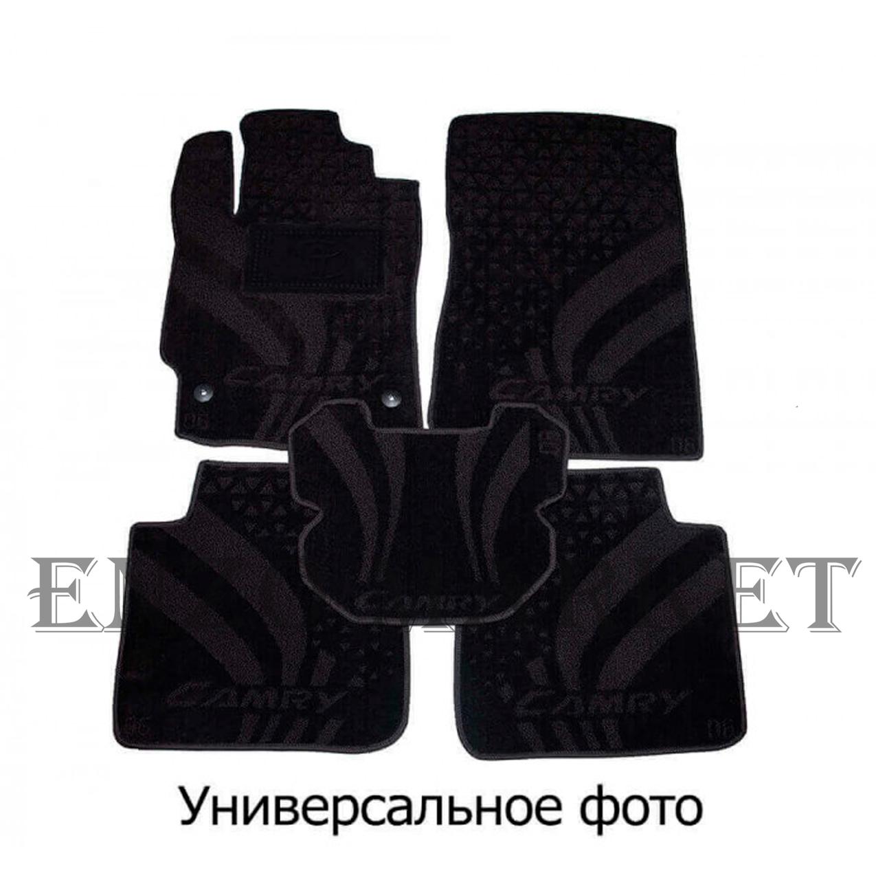 Текстильные автоковрики в салон Fiat Qubo/Fiorino 08-/Citroen Nemo 07-/Peugeot Bipper 08- (AVTO-Tex)