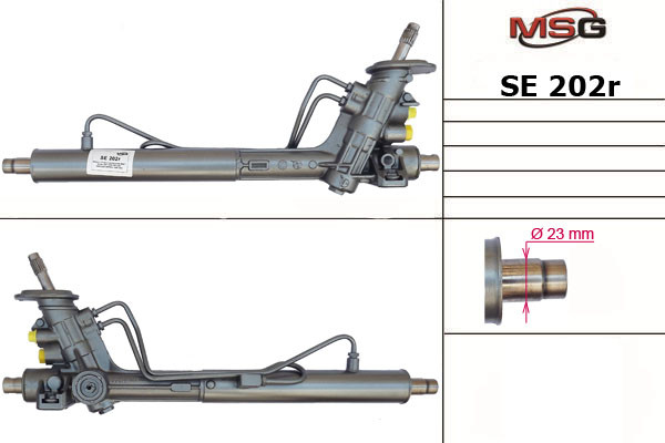Рулевая рейка с ГУР Seat Arosa, Skoda Fabia, Vw Caddy, Lupo, Polo SE202R