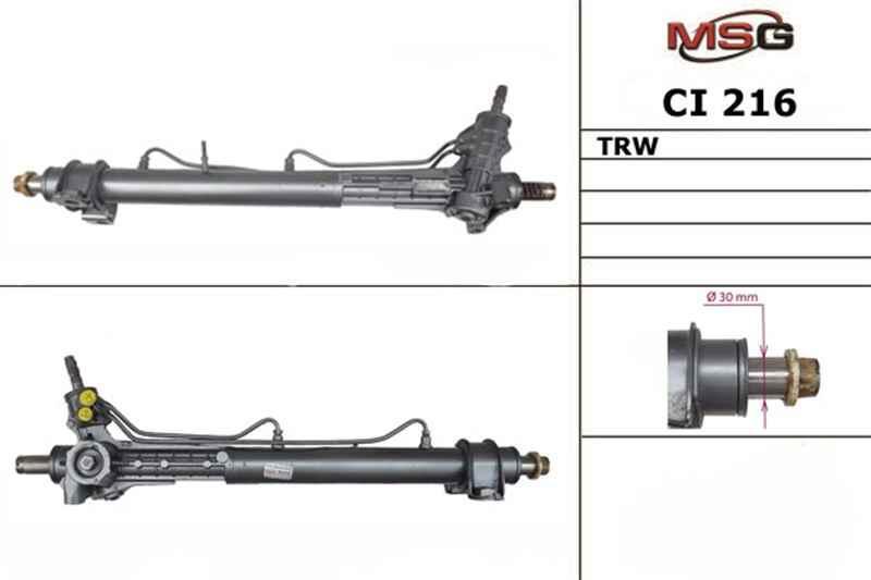 Рульова рейка з ГУР Citroen Jumper, Fiat Ducato, Peugeot Boxer CI216
