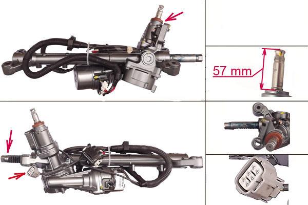 Рульова рейка з ЭУР Subaru Forester, Xv, Impreza SU103R