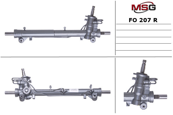 Рульова рейка з ГУР Ford Fiesta, Fusion, Mazda 2 FO207R