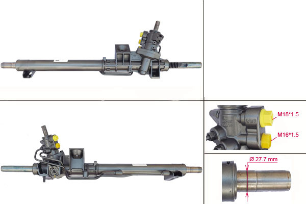 Рульова рейка з ГУР Volvo S60, V70, Xc70, S80 VO213R