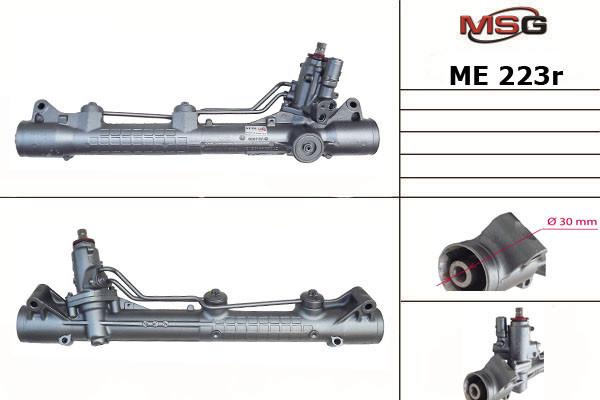 Рулевая рейка с ГУР Mercedes-Benz S-Class ME223R