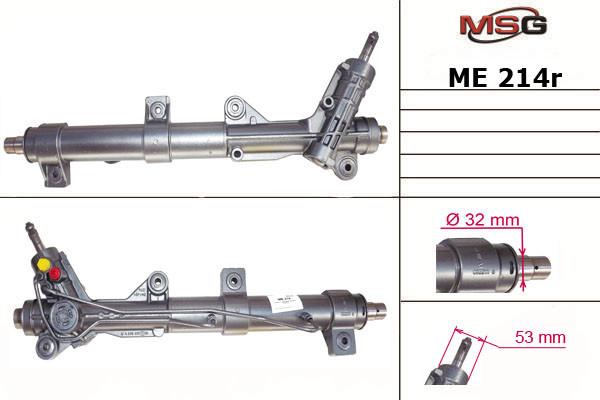 Рульова рейка з ГУР Mercedes-Benz Vito ME214R
