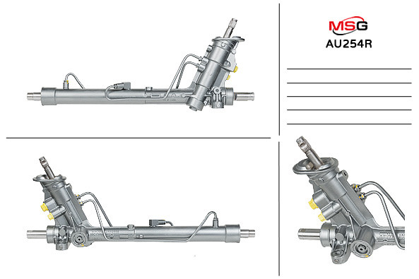 Рулевая рейка с ГУР Audi A1, Vw Polo AU254R