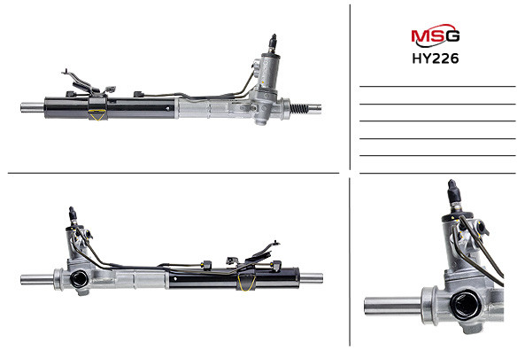 Рулевая рейка с ГУР Hyundai Santa Fe HY226