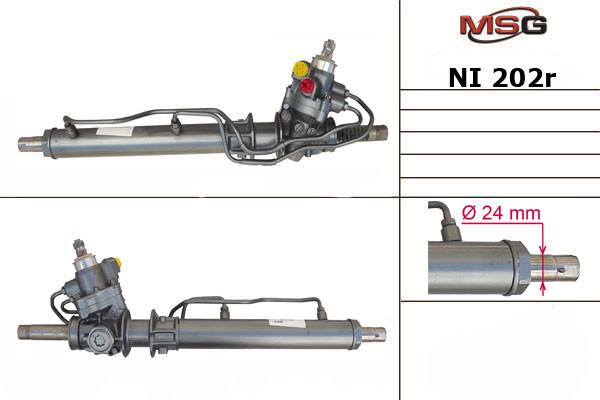 Рульова рейка з ГУР Nissan Almera NI202R