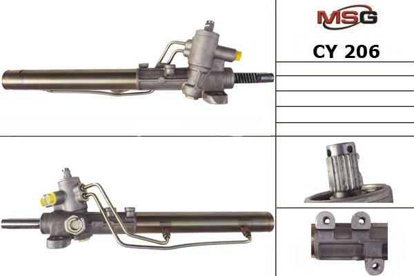 Рулевая рейка с ГУР Chery Amulet CY206