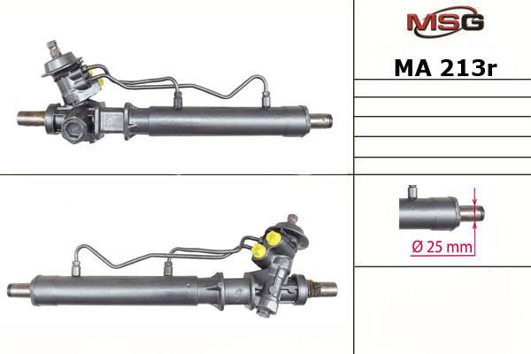 Рульова рейка з ГУР Mazda Mx-3 MA213R