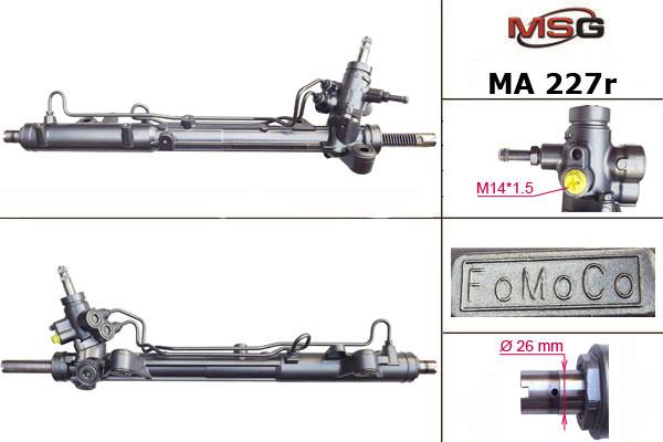 Рульова рейка з ГУР Mazda 6 MA227R