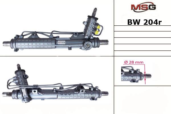 Рулевая рейка с ГУР Bmw 3 BW204R