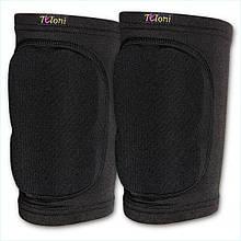 Наколенники защитные Tuloni модель KPS / Размер: S / Комплект 2 шт. / Цвет: Black