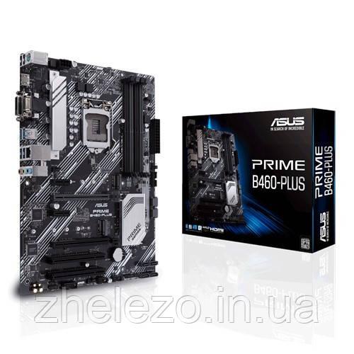 Материнська плата Asus Prime B460-Plus Socket 1200
