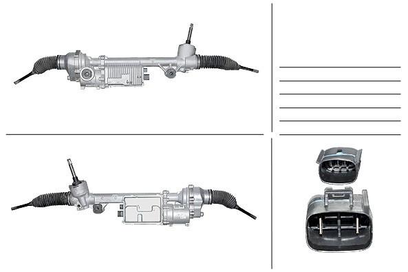 Рулевая рейка с ЭУР Ford Usa F-150 FO120