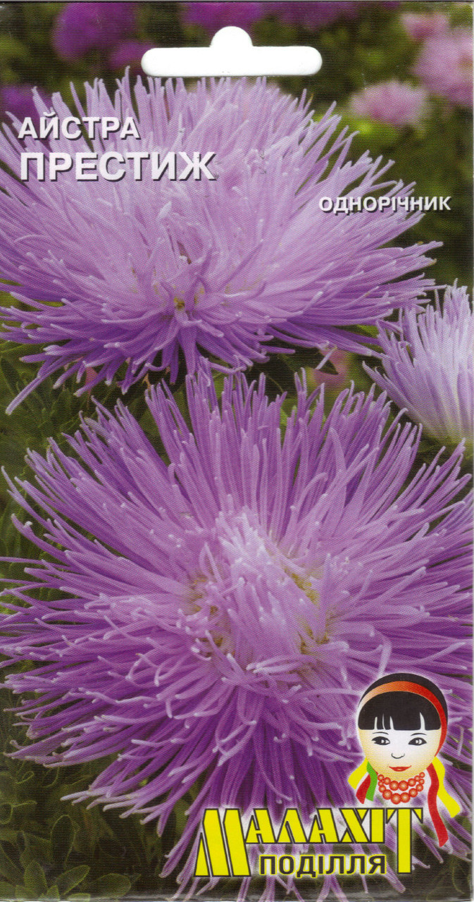 Семена цветов Астра Престиж 0.5г (Малахiт Подiлля)