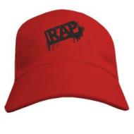 Стильная Реп бейсболка с козырьком  надпись  Rap