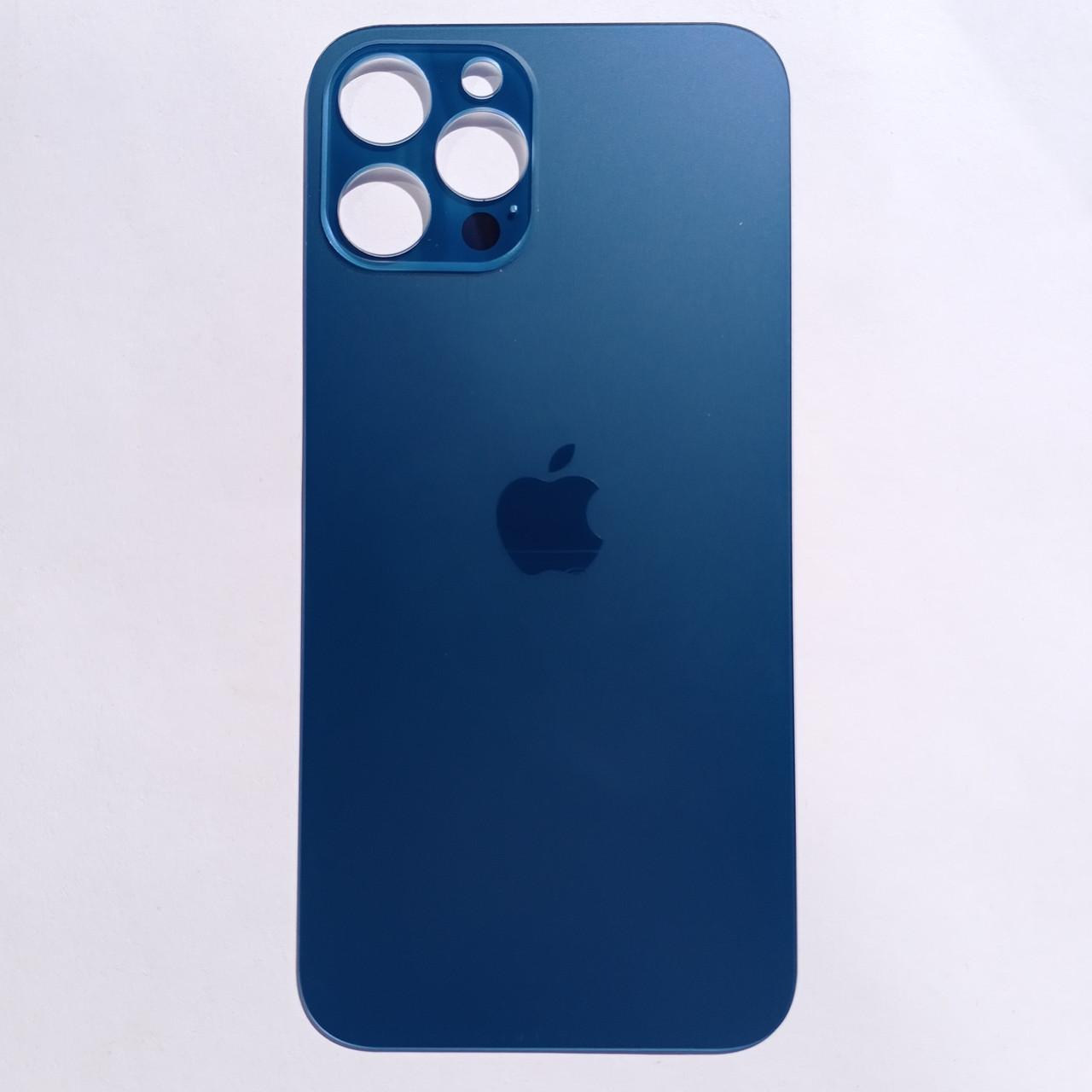 Задняя панель корпуса Novacel для Apple iPhone 12 Pro Max Pacific Blue Big Hole