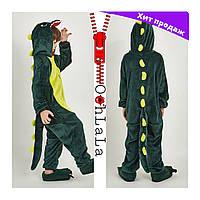 Распродажа оригинальных пижам кигуруми Динозавр Дино для мальчиков и девочек