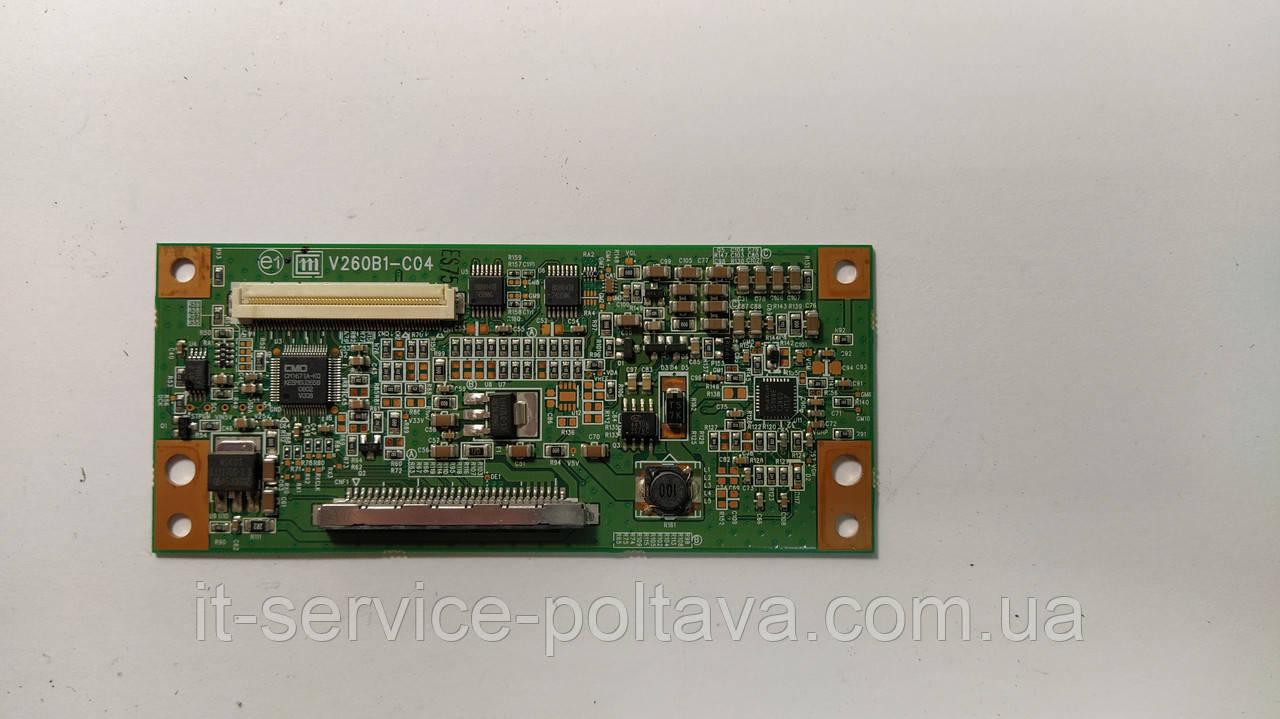 Плата T-Con V260B1-C04 для телевізора Samsung