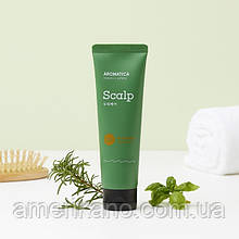 Скраб для кожи головы с розмарином Aromatica Rosemary Scalp Scrub 165 грамм