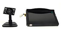 """Монітор камери заднього виду 5 """" з 2-ма відеовиходами, фото 5"""