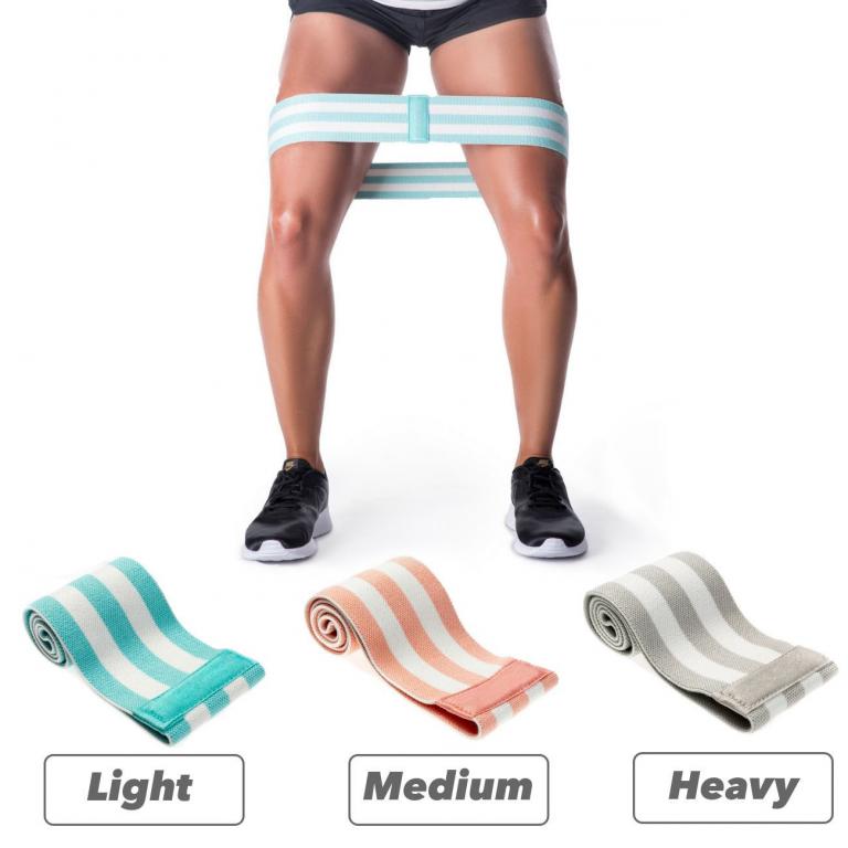 Тканевые фитнес резинки Home Pro Training (Set of 3)