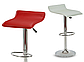 """Барний стілець HOKER BONRO з Підставкою для ніг(120 кг навантаження)""""Білий, фото 6"""
