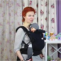 Май-рюкзак DI SLING Adapted Black (2 размер)