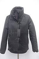 Весняна куртка на дівчину чорна комір стійка 40р, 42р, 44р, фото 1