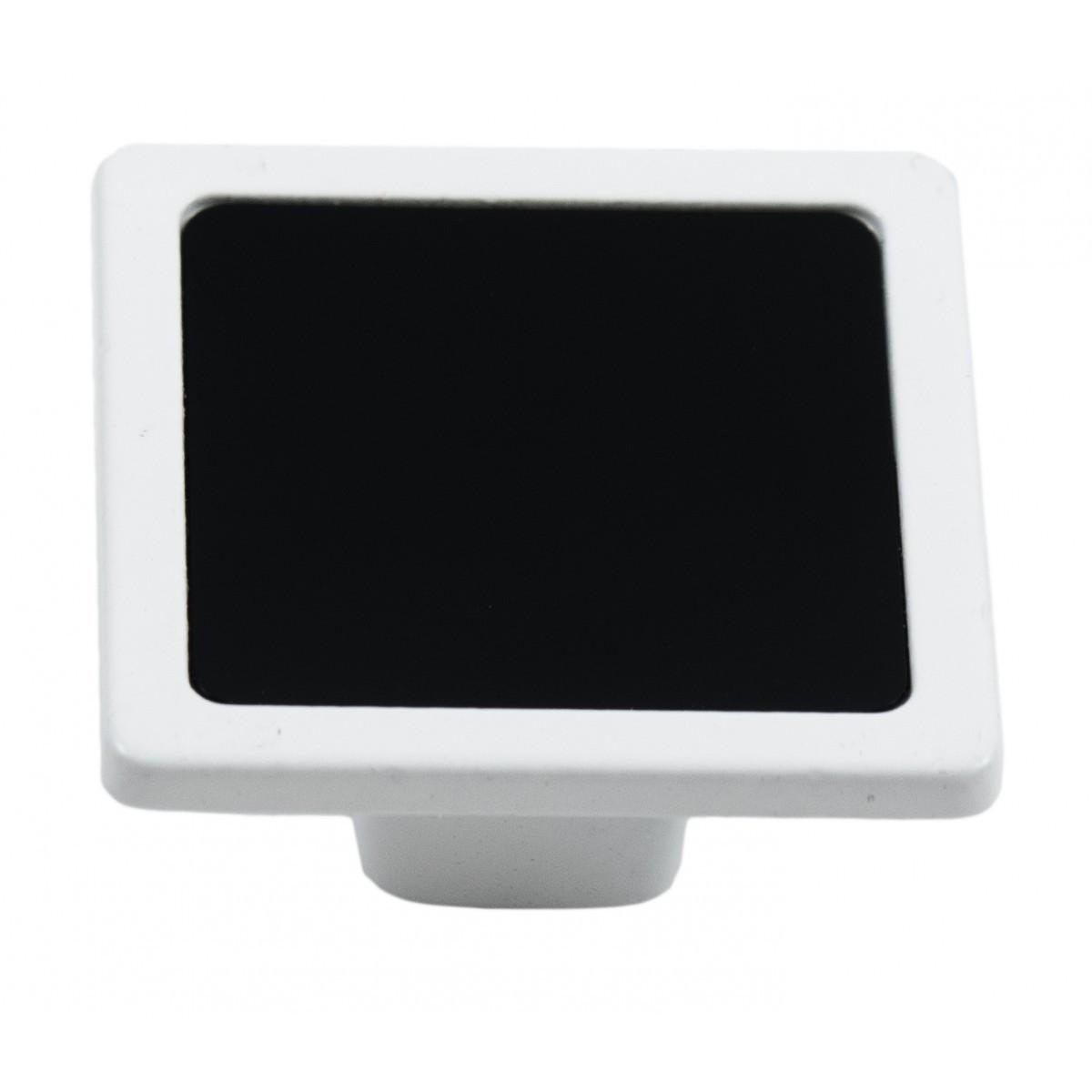 Ручка мебельная Ozkardesler 6083-013/011 SIRA DUGME Белая-Черная