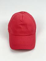 Бейсболка кепка жіноча стильна на липучці річна лляна жовта