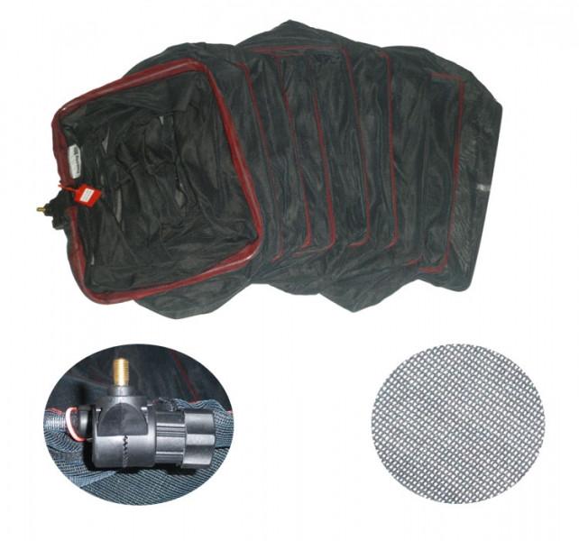 Садок для рыбалки из кивларовой нити 0.35 х 0.45 х 2.5 м.
