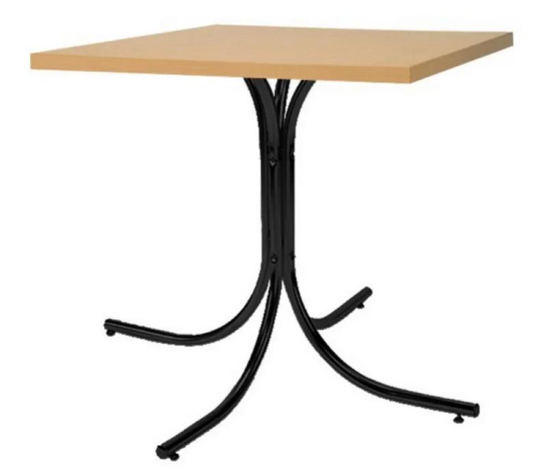 Опора для стола Rozana black (Новый Стиль ТМ)