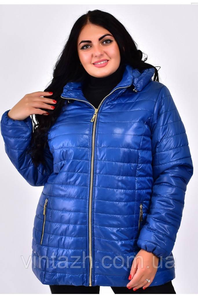 Женская осенняя куртка большие размеры 54-70