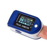 Пульсоксиметр на палец Oximeter P-07 три датчика, точность 100% Оригинал, обновленная версия