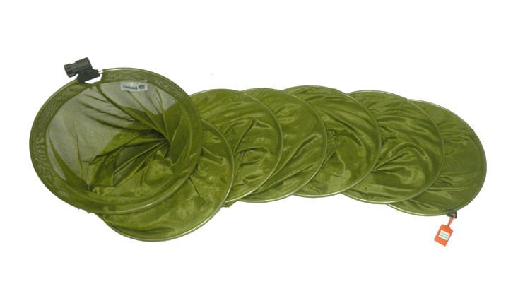 Рыбловный садок зеленый 3м.