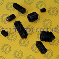 Настановний гвинт DIN 914, ГОСТ 8878-93, ISO 4027., фото 1