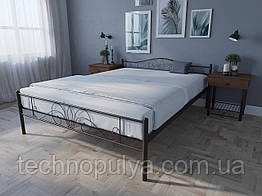 Кровать MELBI Лара Люкс Двуспальная 140х200 см Черный