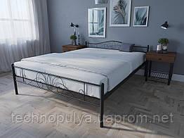 Кровать MELBI Лара Люкс Двуспальная 140х200 см Коричневый