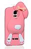 Зайчик Samsung S5 чехол Moschino Персиковый