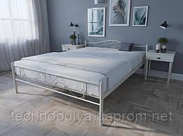 Кровать MELBI Лара Люкс Двуспальная 160х200 см Бежевый