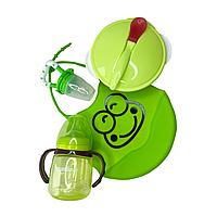 """Набор для кормления """"Standard"""" зеленый"""
