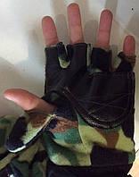 Перчатки варежки флисовые