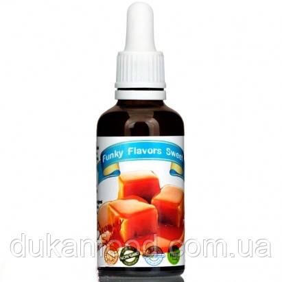 """Подслащенный пищевой ароматизатор  Funky Flavors Sweet """"КАРАМЕЛЬ"""",50 мл"""