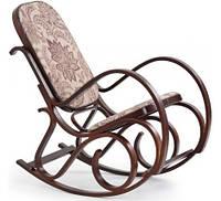 Кресло-качалка, дерево орех, HALMAR MAX 2
